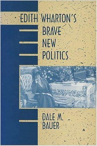 Edith Wharton's Brave New Politics