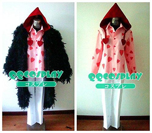 コスプレ衣装 ONE PIECE ワンピース コラソン cosplay   B01CNJSGS8