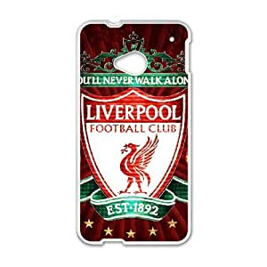 Liverpool Logo HTC One M7 Cell Phone Case White Lbaw