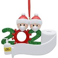 Personalized Covid Christmas 2020 Ornaments Personalized Quarantine Survivor Family Stay At Home Gift, Unique Quarantine…