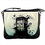 Best DR Messenger Bags - Splashed Police Box Tardis Doctor WHO for School Review
