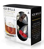 Prepara 2-inch Ice Ball Mold, Set of 4