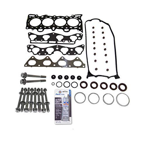 (Head Gasket Set Bolt Kit Fits: 96-00 Honda Civic Del Sol 1.6L VTEC D16Y5 D16Y7 D16Y8)