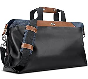 Solo Montauk Duffel Bag with Laptop and Tablet Protection, Navy