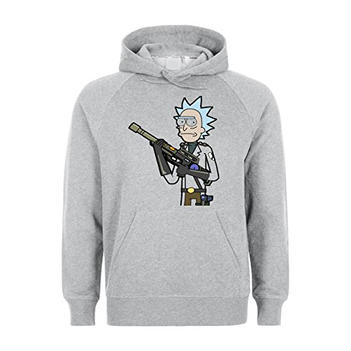 Rick And Morty Tv Show Gunfire Unisex Hoodie