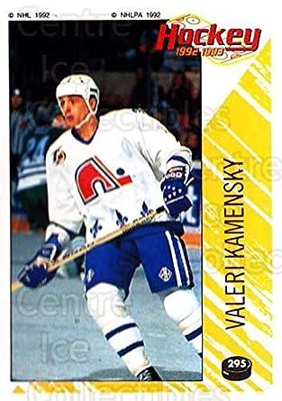 5189b7a42eb Amazon.com  (CI) Valeri Kamensky Hockey Card 1992-93 Panini Stickers ...