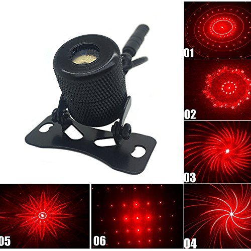 CHENBO Universal 6 Modes Car and Motorcycle Rear-end Anti Collision Laser Fog Lights Taillight Safety Warning Lamp (Laser Safety Light)