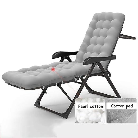 Silla de Playa Plegable Plegable al Aire Libre Chaise Lounge Silla ...