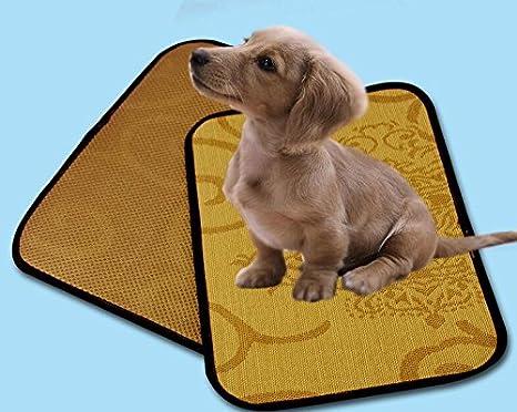UabpT Mantas de Cama para Mascotas Perro Gato Enfriamiento de Mascotas Estera para Dormir Cojín de enfriamiento Cojín Cama fría 35 * 50 cm: Amazon.es: ...