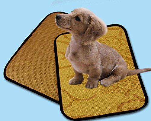 Lizes Alfombra de Cama Caliente para Mascotas Perro Gato Enfriamiento de Mascotas Estera para Dormir Cojín de enfriamiento Cojín Cama fría 30 * 40 cm: ...