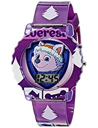 Nickelodeon Kids 'paw4020 visualización Digital cuarzo reloj púrpura