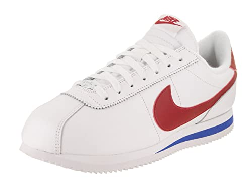 premium selection 1fe7b c52d3 Nike Men's Cortez Basic Leather OG White/Varsity/Red Casual ...