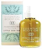 Little Seed Farm Mint Essential Body Oil, Rosemary, 4.0 Ounce
