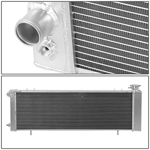 DNA Motoring RA-CHEROKEE-91-3 Aluminum Racing Radiator