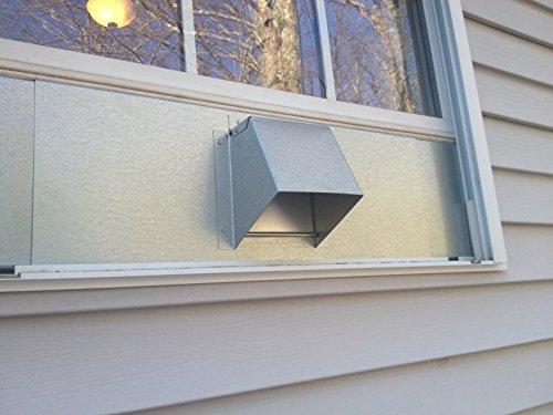 Window Dryer Vent Adjusts 24 Inch Through 36 Inch By