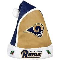 Forever Collectibles 2015 NFL Football Team Logo Holiday Plush Basic Santa Hat - Pick Team
