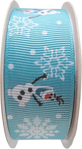 Simplicity 226900001 Disney Frozen Olaf 1-Inch Grosgrain Ribbon, -