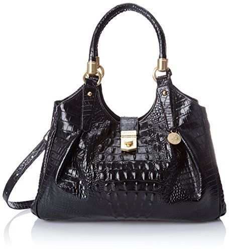 Brahmin Top Brahmin Elisa Bag Top Black Handle Elisa xvqnnIwOUd