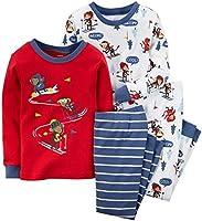 De Carter Baby Boys 'Graphic Footie (bebé),  Ski Monkey