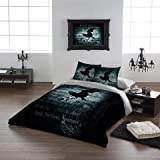 """Alchemy Gothic Nevermore USA King Duvet/comforter Cover Set 102""""x90"""""""