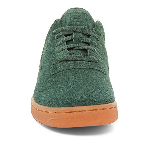 Fila Herren Original Fitness Premium Wildleder Lowrise Schuhe Sneakers Syca / Fcrm / Gummi