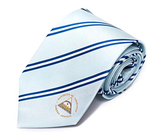 """Nicaragua Tie (3.25"""" Width) 100% Woven Silk"""