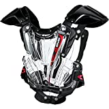 EVS Youth Vex Chest Protector-Clear/Black