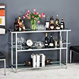 Studio Home Portico 52 Bar In Chrome with Clear Glass 71005