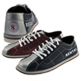 Bowlerstore Classic Womens Bowling Shoes (7 1/2 M US, Blue/Red/Silver)