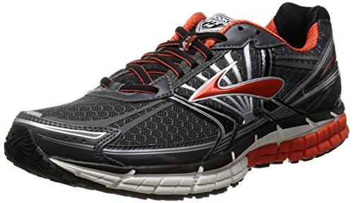 258975c22052f Brooks Men s Adrenaline GTS 14 Running Shoe Grey Orange White Size 13 M US  (B00H0D785U)