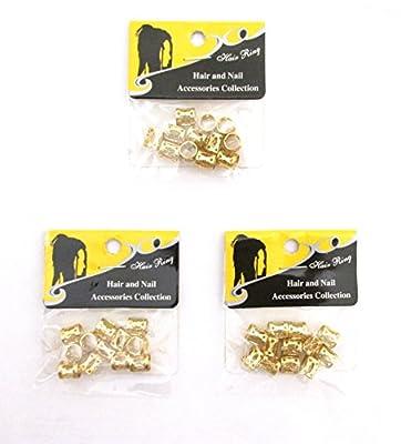 Metal Cuffs Hair Accessories Decoration Filigree Tube