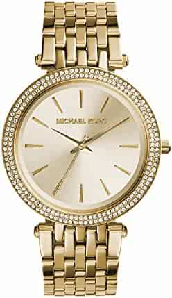 Michael Kors Women's Darci Gold-Tone Watch MK3191