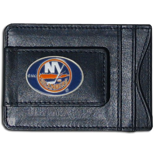 Islanders Nhl Leather - NHL New York Islanders Genuine Leather Cash and Cardholder