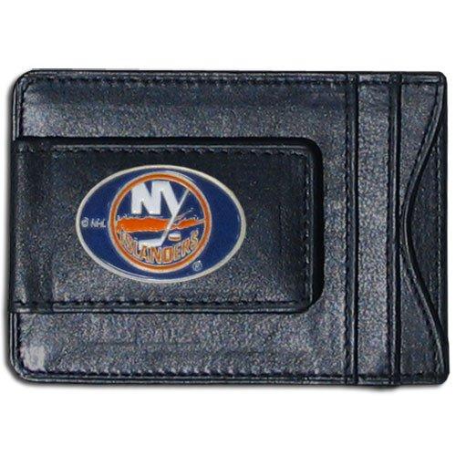 NHL New York Islanders Genuine Leather Cash and Cardholder
