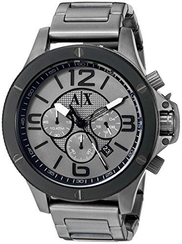 Armani Exchange Men's AX1514 Analog Display Analog Quartz Grey Watch