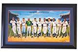 500 Home Run Club 11 Signature Framed 24x41 Lithograph PSA Mantle Mays & More