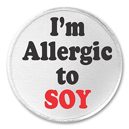 100% Soya Protein (A&T Designs - I'm Allergic to SOY 3