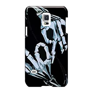 Samsung Galaxy S5 Mini ONd2537jwJb Unique Design High Resolution Korn Throwing Signs Series Scratch Protection Cell-phone Hard Cover -JoannaVennettilli