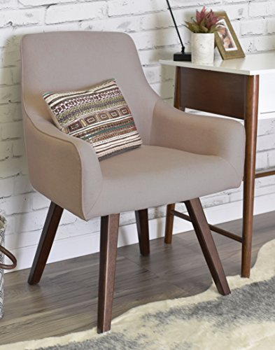 ELLE Décor Paige Home Office Chair - French (Slope Arm)