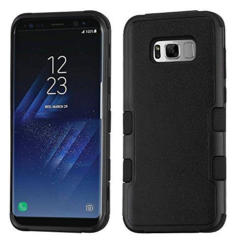 MyBat Cell Phone Case for Samsung Galaxy S8 - Natural Black/Black
