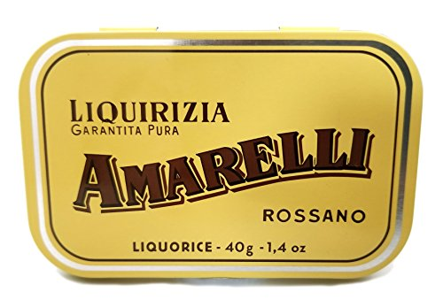 Amarelli Rossano Licorice Garantita Pura - Product of Italy 3 Pack