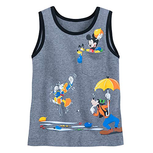 Disney Mickey Mouse and Friends Tank Top for Boys Size S (5/6) Multi -