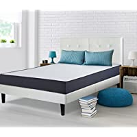 Sleeplace 09FM02K SVC09FM02K Mattresses, King, White/Dark Blue