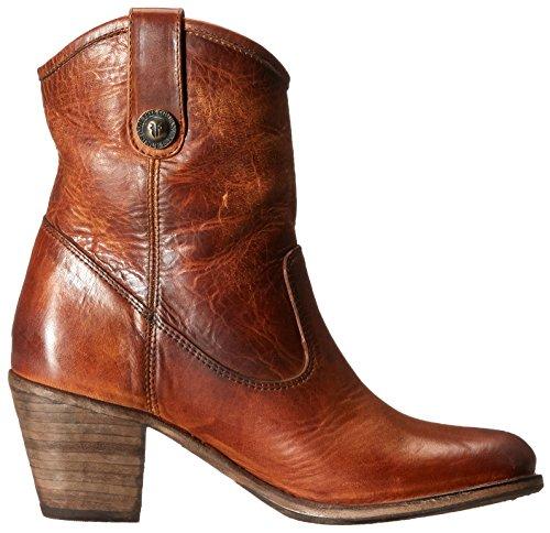 76593 chelsea Jackie Botines de Cognac FRYE Button cuero Short mujer wOqTwzI