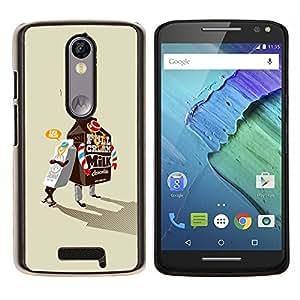 - Milk Box Gangsta For Motorola Moto X 3rd / Moto X Style Duro Snap en el tel???¡¯???€????€?????fono celular de la cubierta @ Cat Family