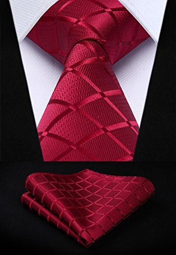 Classic Sets 5 PCS T5 Set Pocket Lot Men's Necktie amp; Multiple Square HISDERN Silk Elegant 13 Tie Formal CtqZwR