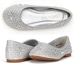 Nina-100 Girls Dress Shoes Classic Ballet Flats  Toddler Little Kid Big Kid