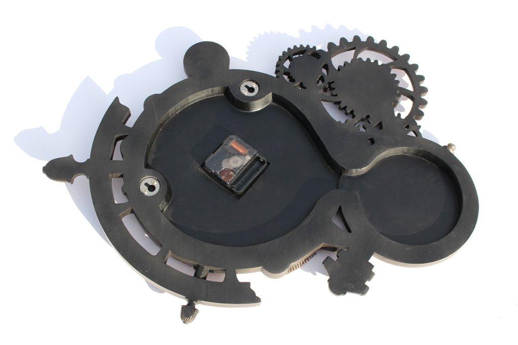 Steampunk Astrolabe Wall Clock Cold Cast Bronze