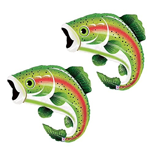 Set of 2 Rainbow Trout 29