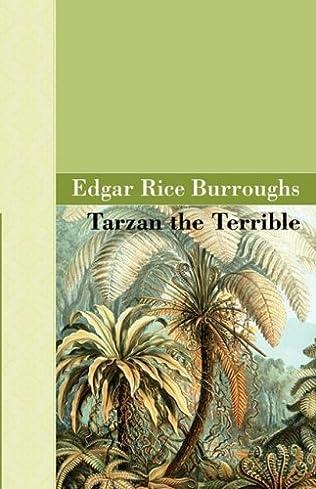book cover of Tarzan the Terrible
